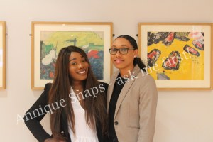 Dr Patrice Baptiste and a fellow tutor at Dream Smart Tutors