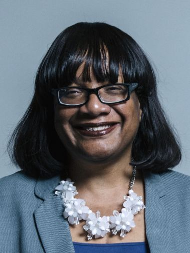 Portrait of Diane Abbott MP