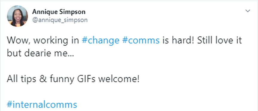 Change Communications: the GIF that keeps on giving
