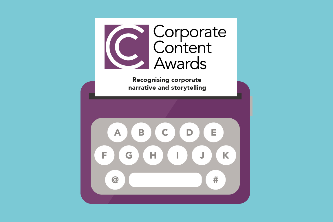 Corporate content awards 2020 logo